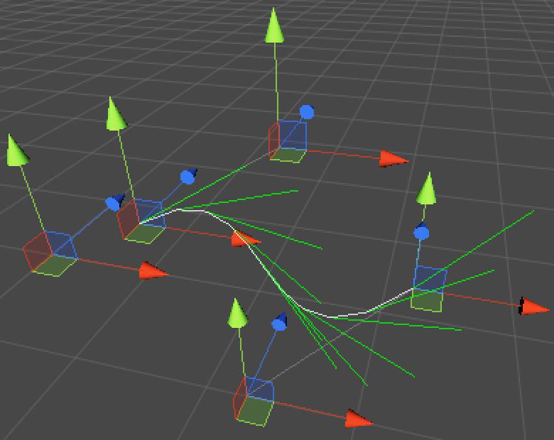 Line Drawing Unity : Curves and splines a unity c tutorial