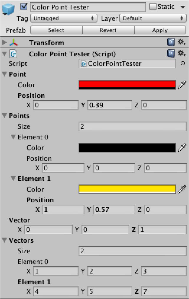 Custom Data, a Unity C# Editor Tutorial