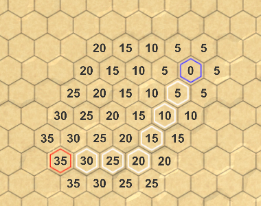 Hex Map 16 Pathfinding