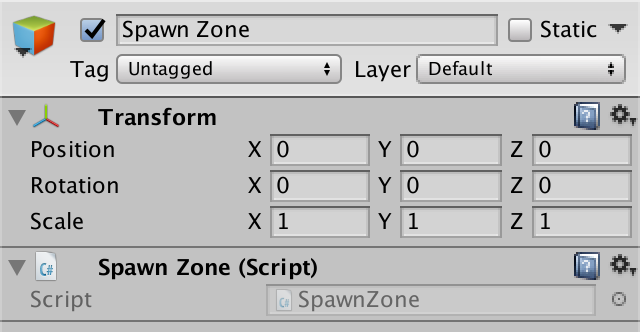 Spawn Zones