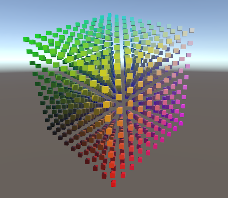Rendering 1, Matrices, a Unity C# Tutorial