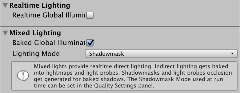 Baked Shadows