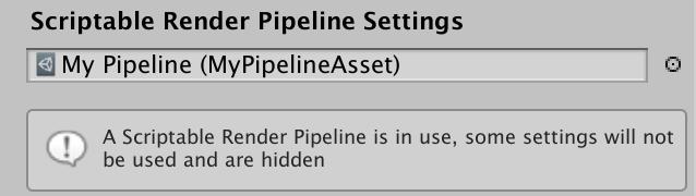 Custom Pipeline